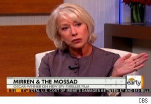 Helen Mirren on 'The Early Show'