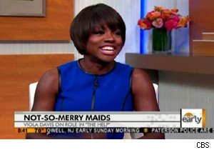Viola Davis talks about 'The Help' on 'The Early Show'