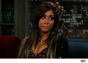 Snooki on Late Night