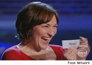 Mary Beth Albright draws Penny Davidi's name and laughs on 'The Next Food Network Star'