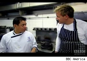 Chang and Gordon Ramsay on 'The F Word'