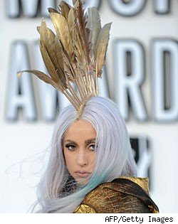 Lady Gaga at the MTV VMAs