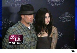 Jesse James and Kat Von D on 'Good Day LA'