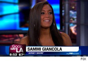 Sammi Giancola of 'Jersey Shore' on 'Good Day LA'