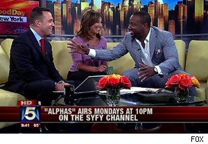 Malik Yoba talks about 'Alphas' and teaching on 'Good Day New York'