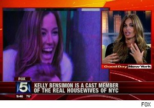 Kelly Bensimon of 'Real Housewives of New York City' on 'Good Day New York'