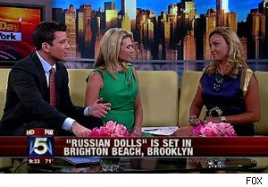 Marina Levitis of 'Russian Dolls' on 'Good Day New York'