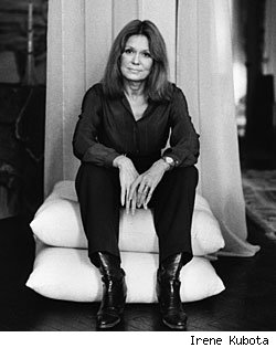 Gloria Steinem Talks Female Presidents, Sexist TV and 'In Her Own Words'