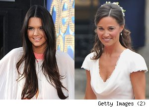 Kendall Jenner, Pippa Middleton