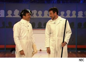 Cory Monteith, 'Late Night with Jimmy Fallon'