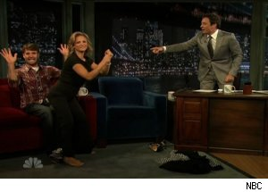 Will Forte & Amy Sedaris, 'Late Night with Jimmy Fallon'