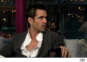 Colin Farrell, 'Late Show with David Letterman'