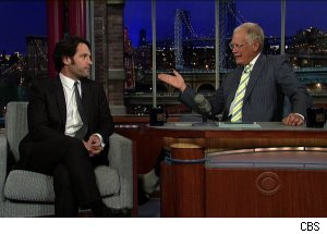 Paul Rudd, 'Late Show with David Letterman'