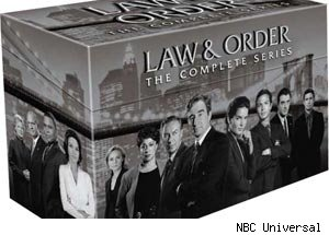 Law & Order Complete Series DVD Set
