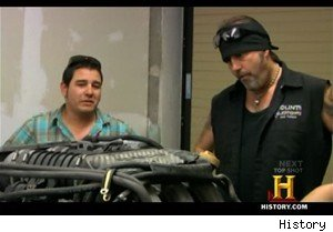 The owner of a Porsche engine and expert mechanic Danny Koker on 'Pawn Stars'