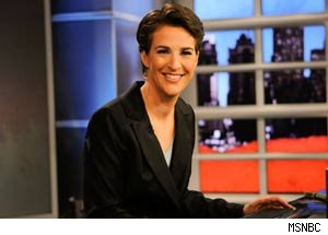 Rachel Maddow Signs Multi-Year Contract Extension at MSNBC
