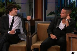The Situation flirts with Jesse Eisenberg
