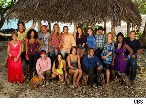 Survivor: South Pacific Cast