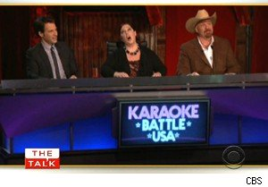 Carnie Wilson judging 'KAraoke Battle USA' on 'The Talk'