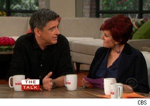Craig Ferguson and Sharon Osbourne on 'The Talk'