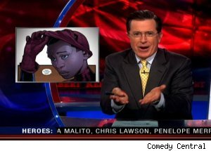 Miles Morales AKA Ultimate Spider-Man, 'The Colbert Report'