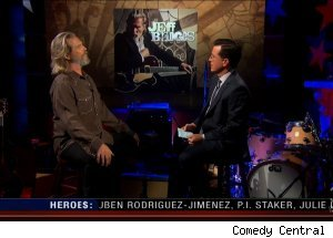 Jeff Bridges, 'The Colbert Report'