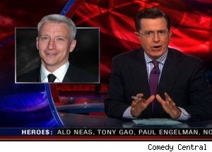 Anderson Cooper, 'The Colbert Report'