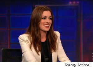 Anne Hathaway, 'The Daily Show'