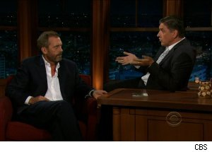 Hugh Laurie, 'The Late Late Show with Craig Ferguson'