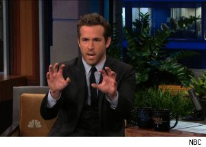 Ryan Reynolds, 'The Tonight Show with Jay Leno'