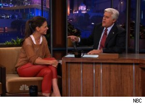 Katie Holmes, 'The Tonight Show with Jay Leno'