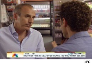 Matt Lauer of 'Today' plays himself on 'Royal Pains'