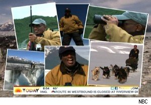 Al Roker in Alaska on 'Today'