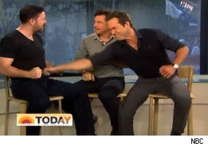 Ricky Gervais, Jason Bateman, and Ryan Reynolds on 'Today'