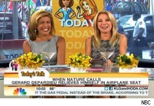 Hoda Kotb and Kathie Lee Gifford on 'Today'