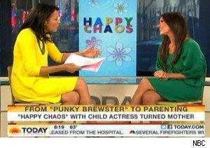 Ann Curry and Soleil Moon Frye on 'Today'
