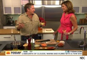 Tim Love cooks rainbow trout with Savannah Guthrie on 'Today'
