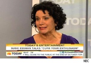 Susie Essman talks about Larry David and 'Curb Your Enthusiasm' on 'Today'