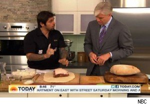 Ludo Lefebvre and David Gregory on 'Today'