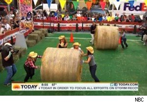'Today' becomes a country fair