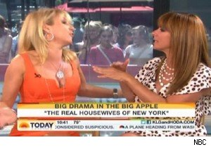 Ramona Singer and Jill Zarin spar on 'Today' with Kathie Lee Gifford and Hoda Kotb