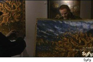 Stealing a long-lost Van Gogh on 'Warehouse 13'