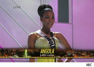 Miss Angola Leila Lopes, '2011 Miss Universe Pageant'