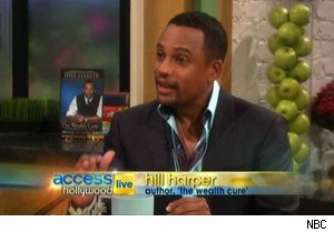 Hill Harper talks about Barack Obama on 'Access Hollywood Live'