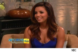 Eva Longoria talks about the ALMA Awards on 'Access Hollywood Live'