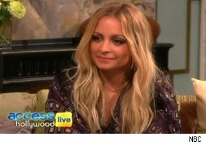 Nicole Richie previews 'Fashion Star' on 'Access Hollywood Live'