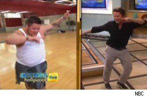 Chaz Bono and Billy Bush do 'Chaz Hands' on 'Access Hollywood Live'