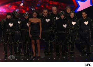 Team iLuminate, 'America's Got Talent'