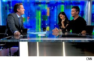 Simon Cowell, Nicole Scherzinger, 'Piers Morgan Tonight'