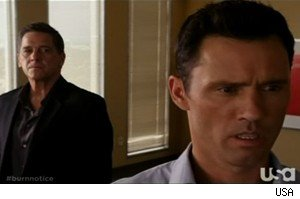 'Dead' Larry and Michael on 'Burn Notice'